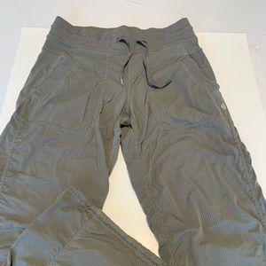 Unlined Lululemon studio dance pants